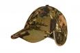 Cap Delphin mit Stirnlampe auf den Ohren - camouflage