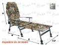 Stuhl FK2 + Fußschemel - farbe camouflage