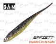 Dropshot gummifische DAM Effzett Jerky - farbe Minnow