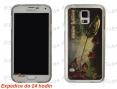 Abdeckung für Handy Samsung Galaxy S5 - Hecht