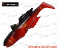 Ripper Savage Gear 3D Goby - farbe Red Black