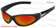 Polarisationsbrille Gamakatsu Streamer - Gray Red Mirror